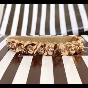 Henri Bendel Rose Gold expandable bracelet NEW